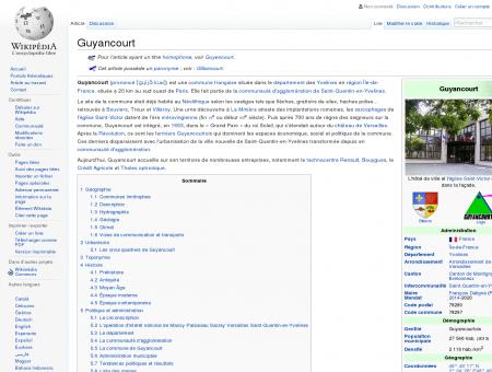 Guyancourt  Wikipédia