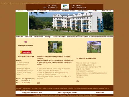 Résidence Hotel de Chevreuse - Le Site Officiel ...