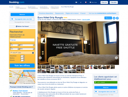 Booking.com: Euro Hôtel Orly Rungis -...