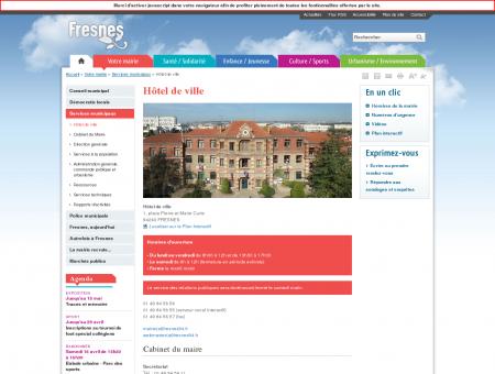 Hôtel de ville | Ville de Fresnes