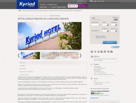 KYRIAD FRESNES | Hotels Kyriad
