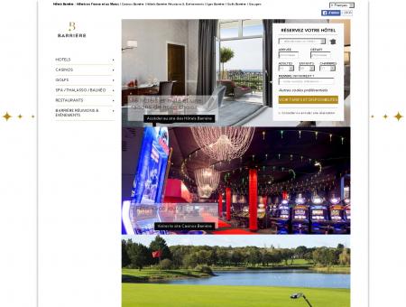 Barrière : Hôtel de Luxe, Casinos, Golf, Spa ...
