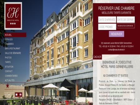 Executive Hôtel Paris Gennevilliers - Site Officiel