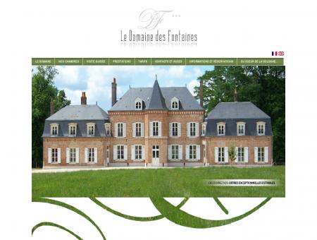 Domaine des Fontaines : Bienvenue au...