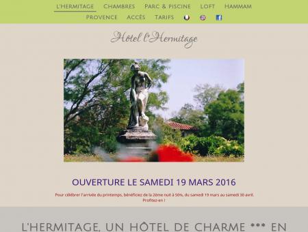 Hôtel l'Hermitage en Provence - hôtel de...