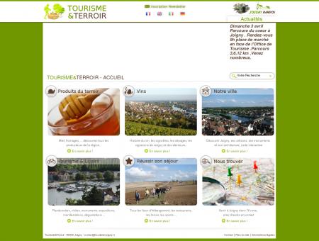 Tourisme Joigny, produits terroir, hôtel,...