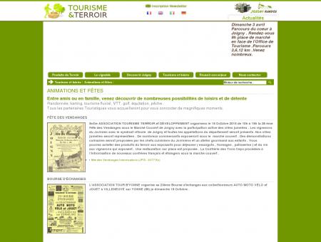 Tourisme et Terroir Joigny, tourisme Yonne,...