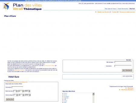 Plan Eure (27) : plan gratuit Eure à télécharger...