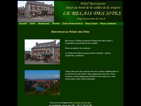 Relais des Sites - Faverolles - Cantal