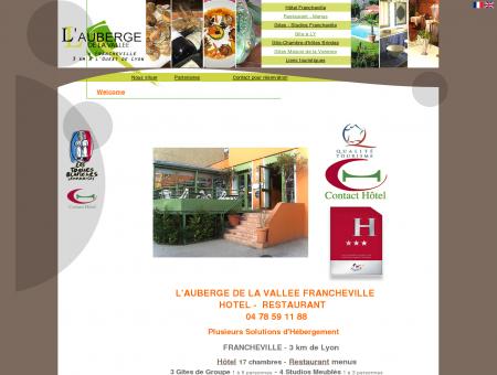 Auberge de la Vallée Francheville Hotel***...