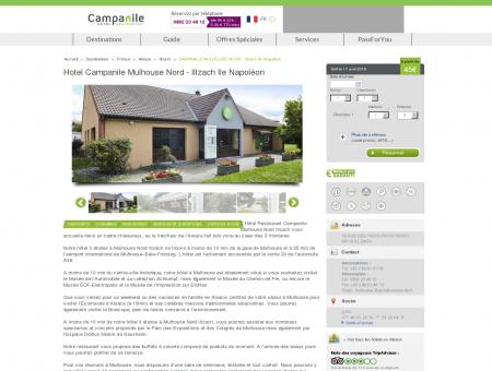 Hotel Campanile Mulhouse Nord - Illzach Ile...