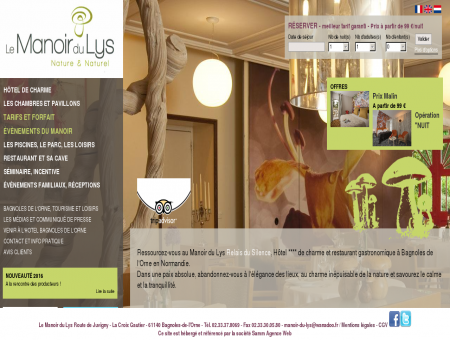 Hotel Bagnoles de l'Orne - Hotel Restaurant...