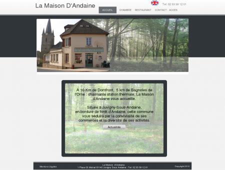 Située à Juvigny-Sous-Andaine, - La Maison...