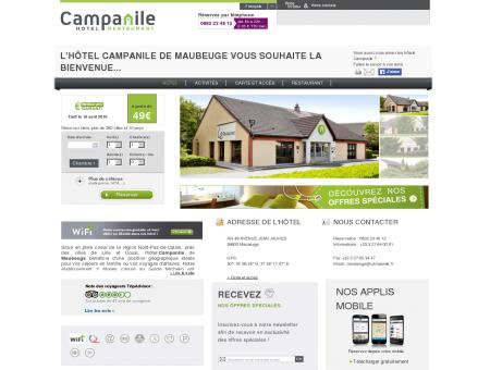 Hôtel CAMPANILE MAUBEUGE - Hôtel à...