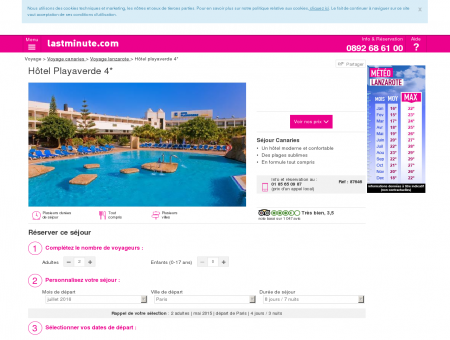 Hôtel Playaverde 4* - lastminute.com