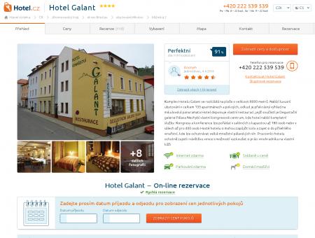 Hotel Galant, ubytování Mikulov od 2 200 K?