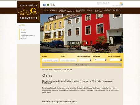 O nás | Hotel Galant - ubytování Mikulov