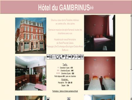Hotel du GAMBRINUS** Hazebrouck