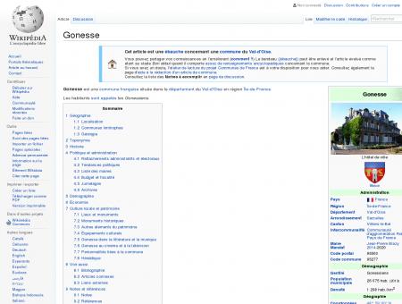 Gonesse  Wikipédia