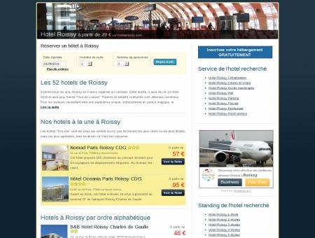 Hotel Roissy à partir de 35 euros sur...
