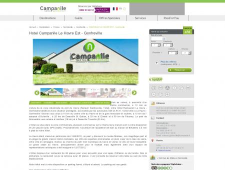 Hotel Campanile Le Havre Est - Gonfreville |...