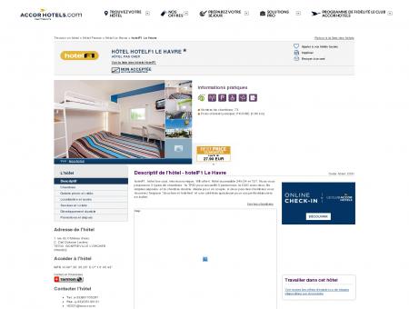 Hôtel à GONFREVILLE L'ORCHER - hotelF1 Le...