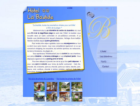 Hôtel La Bastide ** ~~