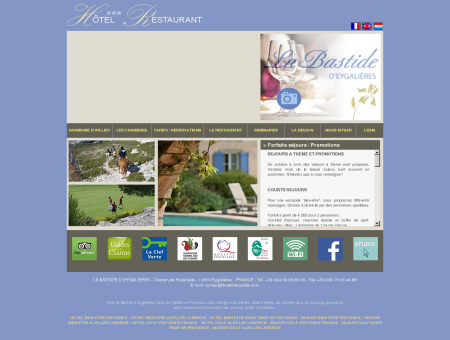 LA BASTIDE - HOTEL CHARME EYGALIERES...