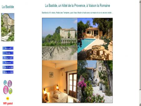 Vaison la Romaine hôtel La Bastide
