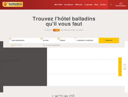 Hôtels Balladins : Réservation d'Hôtels en...