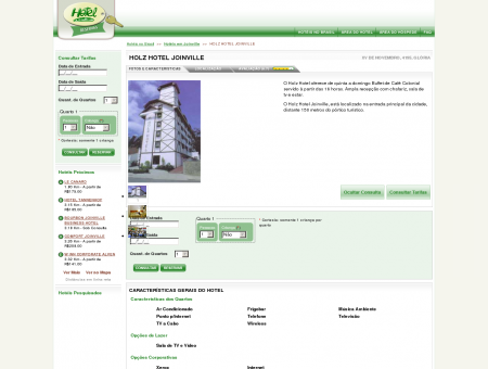 HOLZ HOTEL JOINVILLE - JOINVILLE - SC -...