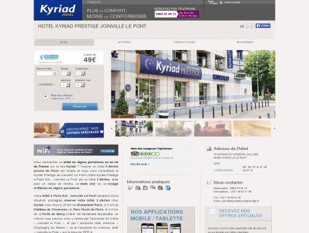 Hotel KYRIAD PRESTIGE JOINVILLE LE PONT
