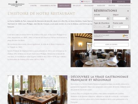 Lhistoire de notre restaurant - Domaine de...