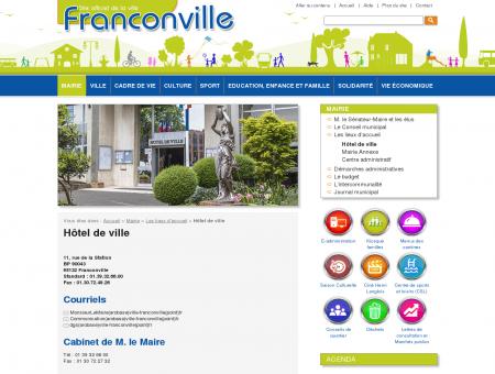 Hôtel de ville - Franconville