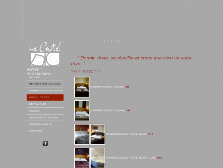 Hotel*** Le Castel - Fosses-la-Ville, Namur,...