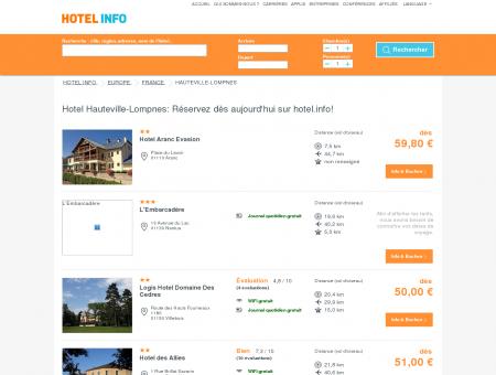 Hotel Hauteville-Lompnes: Réservez dès...