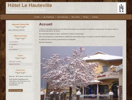 Hôtel le Hauteville