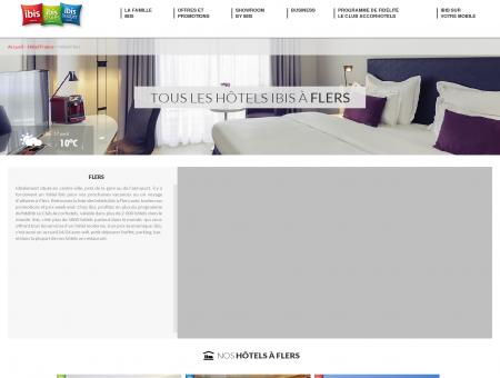 Hôtel Flers : hôtels ibis pour week-end ou...