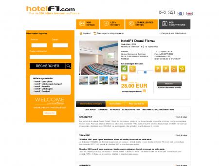 Hôtel pas cher hotelF1 Douai Flers : hotel...