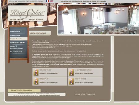 Restaurant Hôtel Sophie Argentan, flers et...