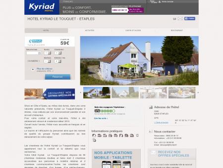 Hotel KYRIAD LE TOUQUET - Etaples