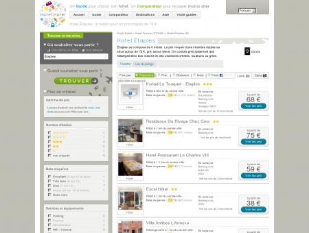 Hotel Étaples : 10 hotels pour un prix moyen...