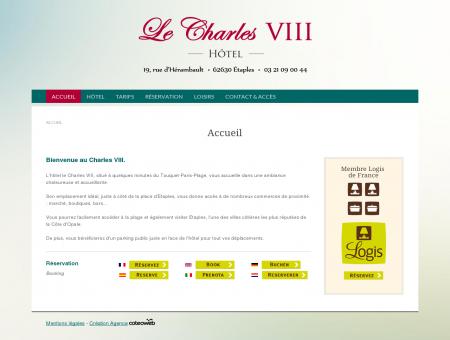 Hôtel Restaurant Le Charles VIII, à Etaples le...