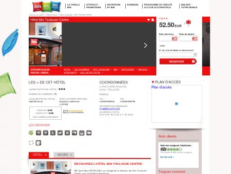 Hotel pas cher TOULOUSE - ibis Toulouse Centre