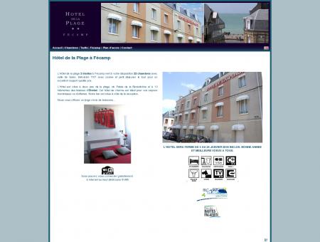 HOTEL DE LA PLAGE FECAMP - SITE OFFICIEL -...