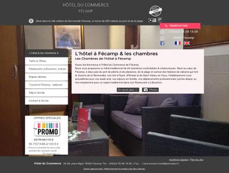 Hôtel Fécamp Hotel du Commerce à Fécamp...