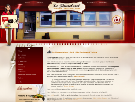 Hotel Restaurant Le Chateaubriand dans...