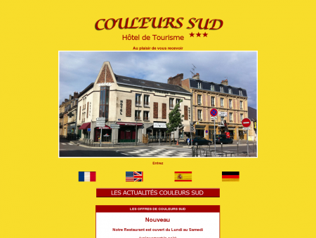 Accueil et Services à l'HOTEL Couleurs Sud à ...