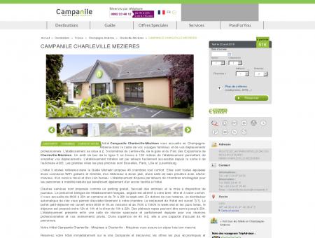 CAMPANILE CHARLEVILLE MEZIERES | Campanile