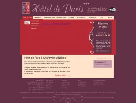 Hotel Charleville Mézières - hôtel Ardennes (08)
